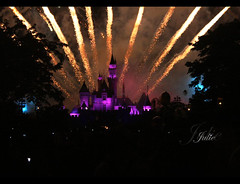Fantasy land (Julie) Tags: china castle hongkong julie disneyland firework fantasy
