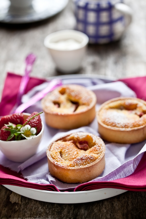 Rhubarb Tartelettes