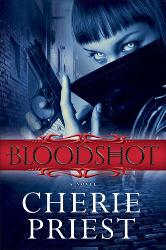 Cover Art: Bloodshot by Cherie Priest