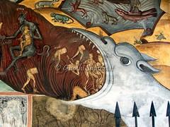 Horezu, dettaglio giudizio universale (Sig.Gilbo) Tags: romania monastero dettaglio manastirea giudiziouniversale horezu zd710