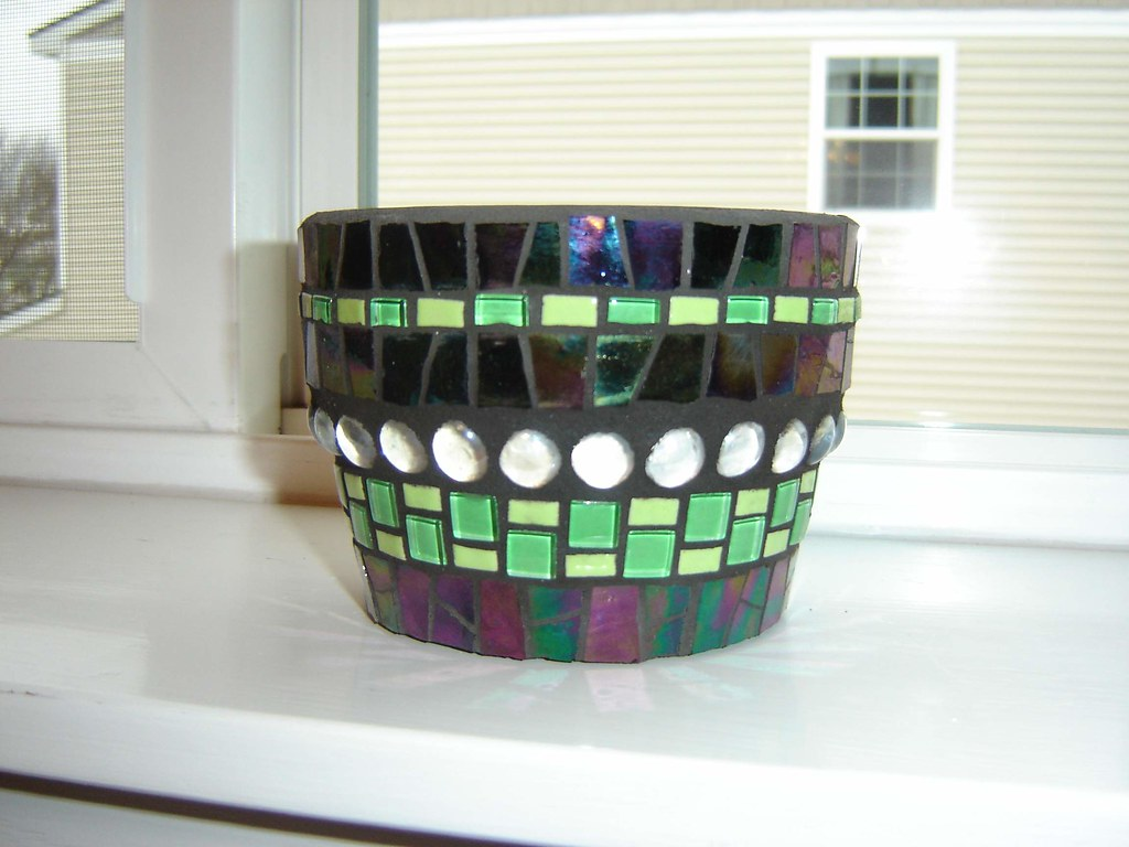 Small Mosaic Pot