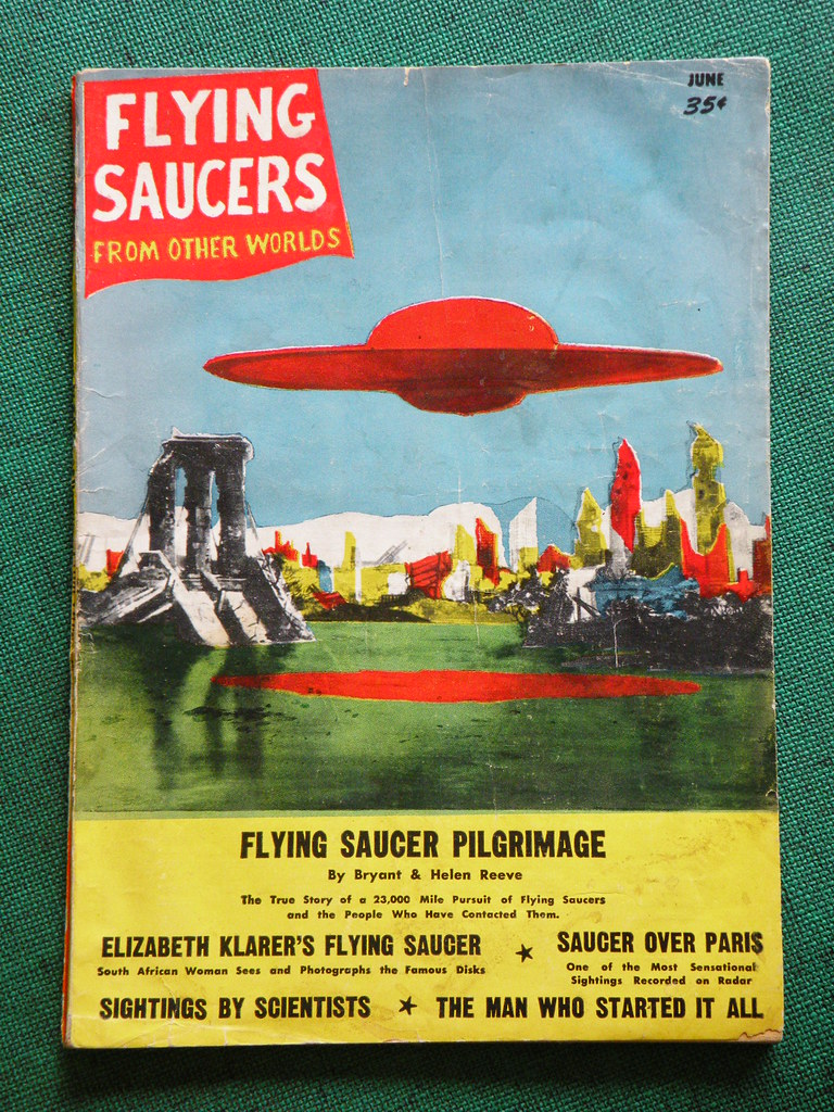 Flying Saucers from Other Worlds Pulp