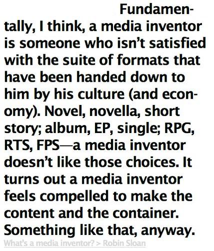 media inventor