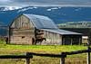 Teton Barn and Horses (Bill Wight CA) Tags: horses barn nationalpark wyoming tetons grandteton oldbarn billwight mountainhighworkshops copyright2010
