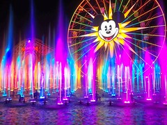 World of Color! (rpmckay) Tags: world show color reflection night rainbow colorful bright disneyland vibrant disney mickey dca dlr californiaadventure disneycaliforniaadventure watershow disneylandresort disneyshow abigfave wonderfulworldofcolor worldofcolor funwheel mickeyfunwheel thewonderfulworldofcolor