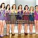 Miss America Contestants c1940 - Atlantic City NJ by Melivn Hale ArtistLA