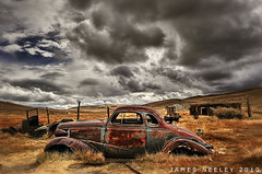 Car Show (James Neeley) Tags: california car landscape nikon handheld bodie aging lowrider hdr 3xp photomatix jamesneeley d3s