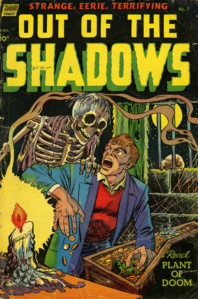 Out Of The Shadows #7 (Standard, 1953)