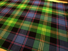 Close up - Watson Tartan