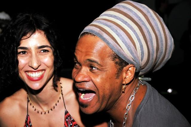 Marisa Monte e Carlinhos Brown - Show ROMÂNTICO AMBIENTE de CARLINHOS BROWN - OI Casa Grande  - Novembro 2010