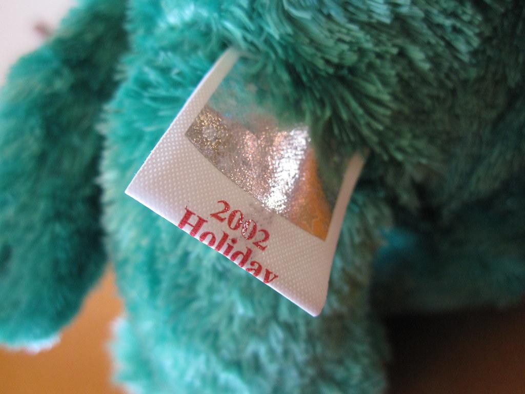 Ty 2002 Holiday Teddy Beanie Baby Tush Tag (jessicagreen0202) Tags   christmas xmas baby a4fe12b2aef1