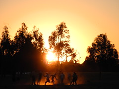 """Partidito al atardecer"" (Marcelo Savoini) Tags: friends sunset playing game amigos sports argentina atardecer football nikon rosario deporte match juego futbol partido jugando p7000 scalabrini ortz"