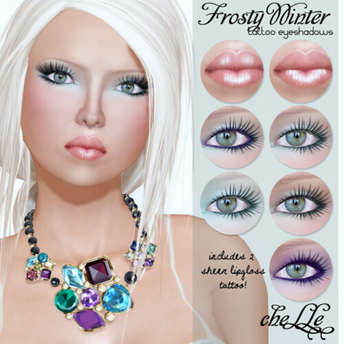 cheLLe - Frosty Winter (tattoo eyeshadows)