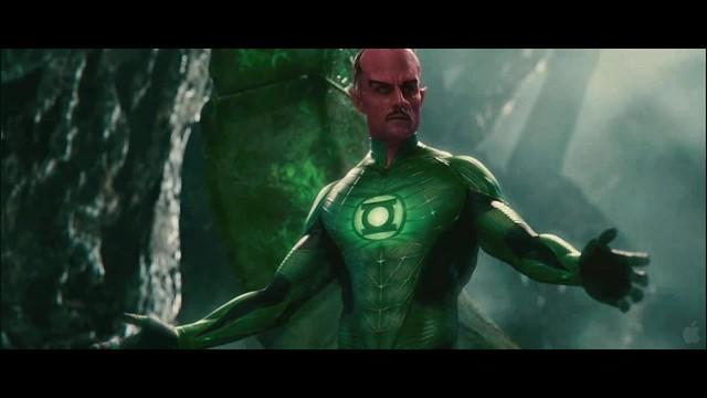 Linterna Verde escena Sinestro