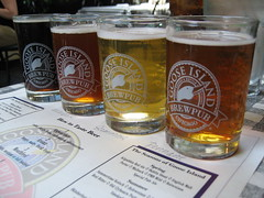 Goose Island Beer Flight