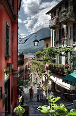bellagio and the lake of como. lombardia, italia, italy