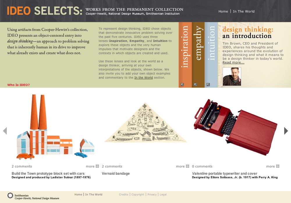 IDEO Selects