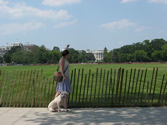 Katie & Linus at the White House