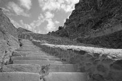 Ascending Ollantaytambo #1 - by Luke Redmond