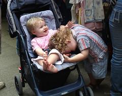 of kin's laugh (jobarracuda) Tags: kids children lumix hongkong brothers stroller laughter kins fz50 panasoniclumix dmcfz50 jobarracuda