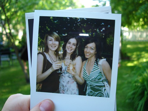 Wedding poloroids We then had a nice cocktail during which we took every