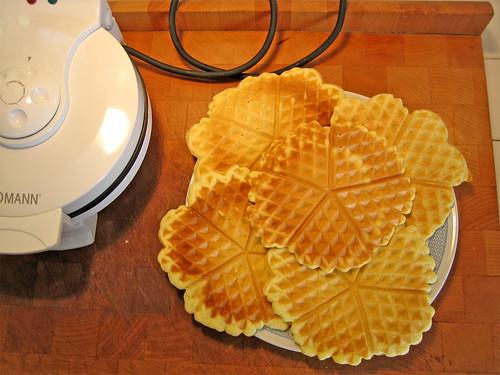 Dolci dopo il tg ricette waffel