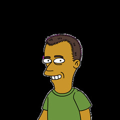 Simpsonized Erik