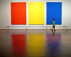 Red, Yellow, Blue, Green (.michael.newman.) Tags: blue red art yellow museum wisconsin painting interestingness nice explore milwaukeeartmuseum milwaukee sacred kelly minimalism mam ellsworth minimalist transcendent cotcmostfavorited shopofcuriosities