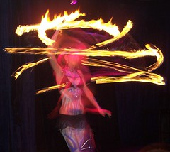 Fire Dance Girl (John_X) Tags: girl fire dance dancing action spin explore flame twirl spinning twirling firedancer supershot aplusphoto