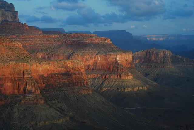 Sunrise at grand canyon