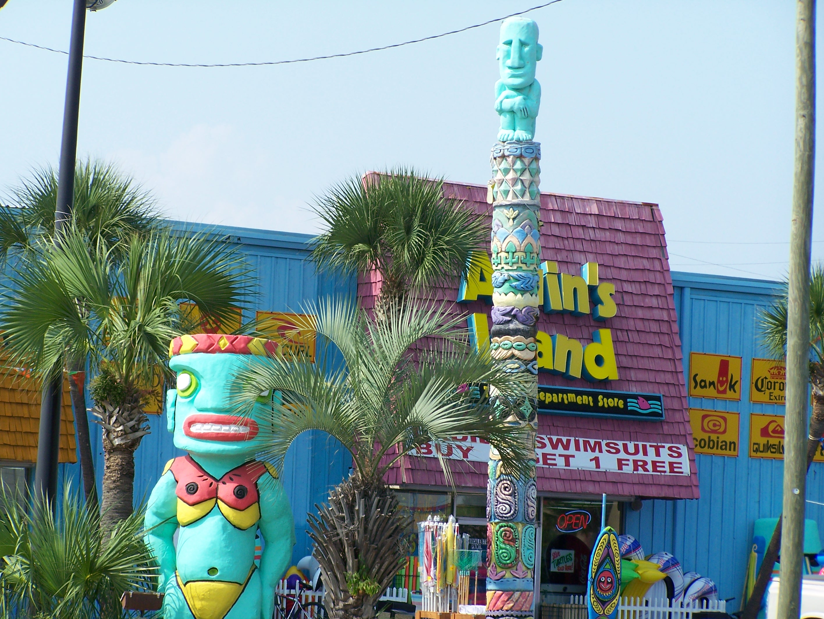 Panama City Beach T Shirts Alvin S Island