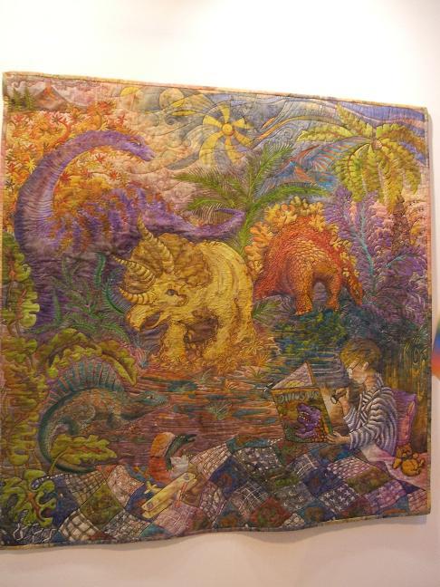 Imaginasaurus quilt