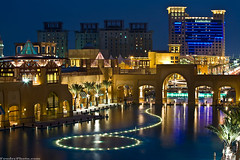 Alkout mall fountain (A.alFoudry) Tags: blue light sunset reflection castle fountain pool yellow night canon mall eos lights hotel is shot nightshot full dome frame 5d kuwait usm fullframe  domes symphony ef kuwaiti q8 70200mm abdullah rotana fahaheel alkout  kout canoneos5d f28l kuw vwc q80 canonef70200mmf28lisusm  xnuzha alfoudry almanshar  abdullahalfoudry foudryphotocom  fahahel kvwc kuwaitvoluntaryworkcenter  kuwaitvwc