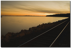 On the right track - White Rock (janusz l) Tags: railroad travel sunset canada west beautiful train vintage geotagged evening bravo exposure bc britishcolumbia rail railway civilization whiterock capture westcoast breathtaking supernatural kanada traveler janusz leszczynski beautifulcapture mywinner abigfave worldbest ontherighttrack anawesomeshot superbmasterpiece diamondclassphotographe superhearts onlythebestare excapture geo:lat=49021126 geo:lon=12280612
