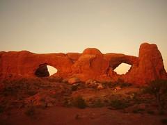 The windows, Arches (monchoparis) Tags: utah archesnationalpark arco arche turretarch
