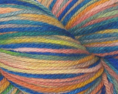 Bright Moments on  Rambouillet Worsted - 4oz (WW)