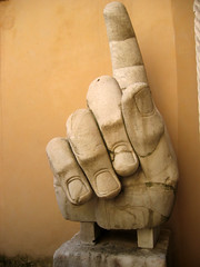 More of the Hand (mindalee) Tags: italy rome statue hand week1 universityofwashington capitolinemuseum creativewriting museicapitolini summer2007 piazzadelcompidoglio