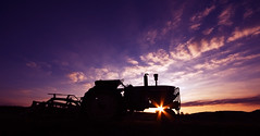 Goodnight Mr. Tractor (dfworks) Tags: sunset tractor field canon farm pa johndeere berkscounty 30d sigma1020 oley abigfave anawesomeshot aplusphoto superhearts