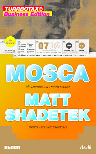 Mosca Turbotax TURRBOTAX Brooklyn Night Slugs