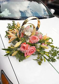 Luxury Car And Wedding Car Decorations Luxury Car In Wedding Flower Decorations