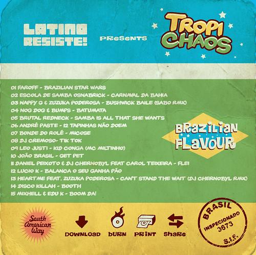 latino resiste Tropichaos tracklist