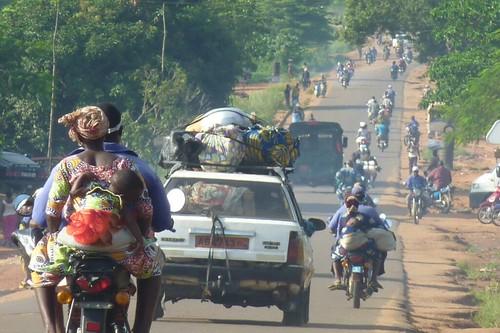 On the road in Benin