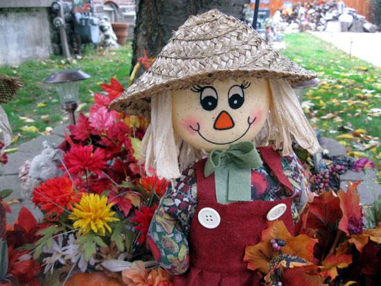 Scarecrow Closeup