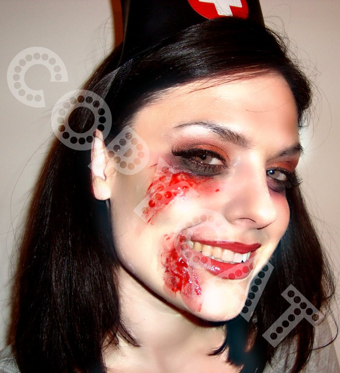 Zombie nurse photoshop