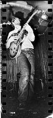 White Denim Rockin' Sprockets @ Spaceland 11/2 (Redfishingboat (Mick O)) Tags: music film losangeles concert spaceland d7611 whitedenim sprocketrocket aristapremium400 lomo30mmf108