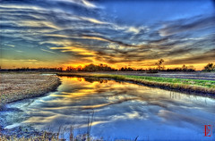 Sky Melt (Kansas Poetry (Patrick)) Tags: lawrencekansas newaddition bakerwetlands wakarusawetlands patricknancy