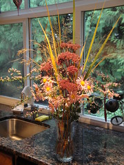 Fall Bouquet Portrait November 2010