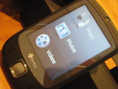 HTC Touch with TouchFLO