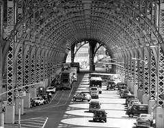 Structural (Trish Mayo) Tags: street newyork cars buses architecture bravo traffic harlem u trucks soe 125thstreet blueribbonwinner flickrsbest shieldofexcellence anawesomeshot agradephoto blogphotoforuptownflavor photowalkwithpunkdolphin cityskipgroup