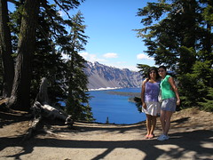 Mom and myself at Crater Lake